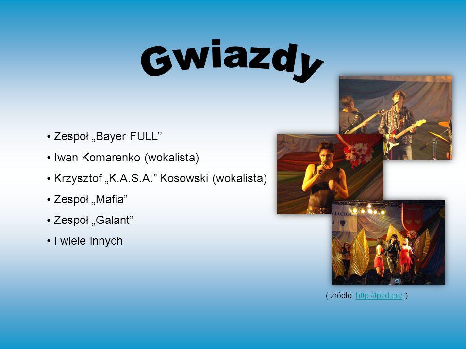 Zespół Bayer FULL Iwan Komarenko (wokalista) Krzysztof K.A.S.A.