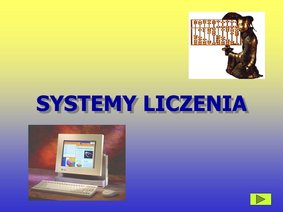 SYSTEMY LICZENIA SYSTEMY LICZENIA