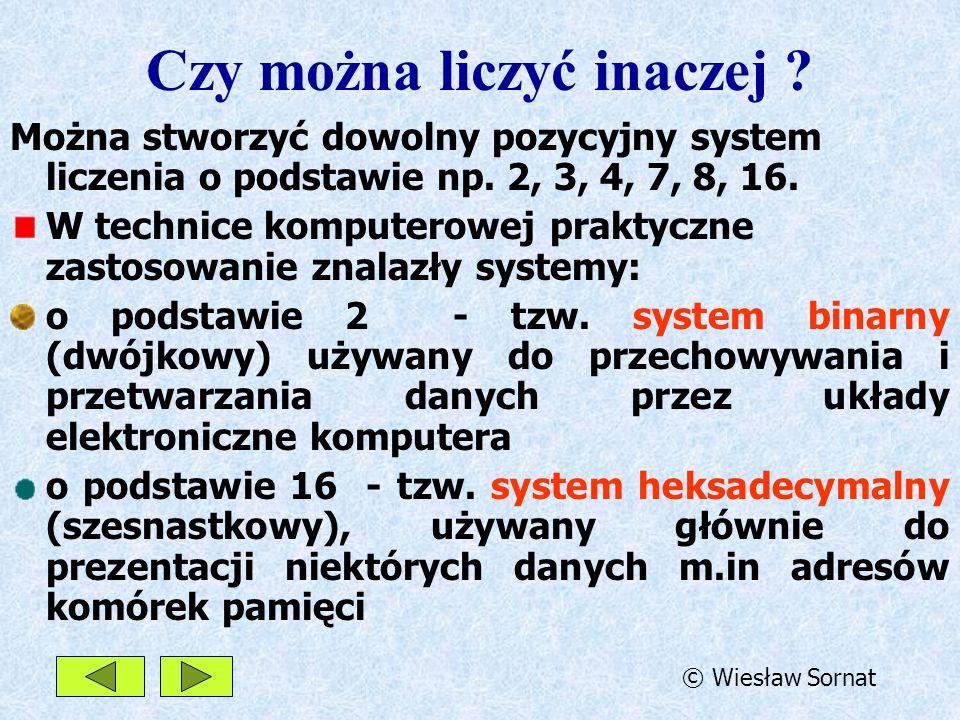 System binarny.