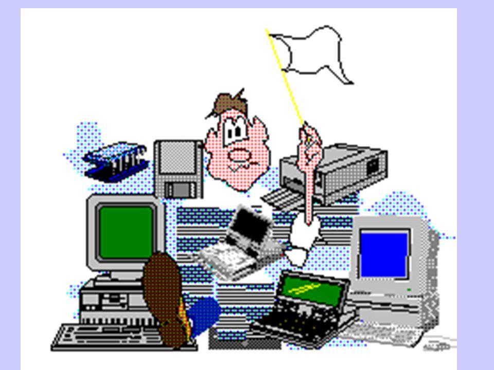 RAM – Random Access Memory – (Pamięć o dostępie swobodnym – pamięć robocza).Przechowuje dane w trakcie pracy komputera i pozwala na zapis oraz odczyt danych.