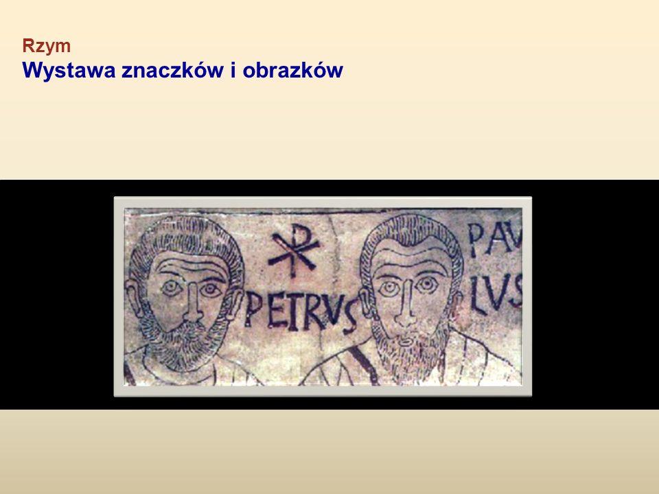 Rzym Wystawa znaczków i obrazków