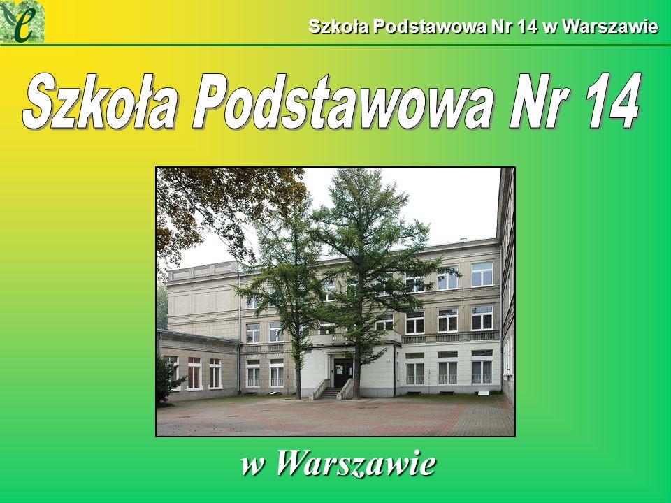 Szkoła Podstawowa Nr 14 w Warszawie w Warszawie w Warszawie