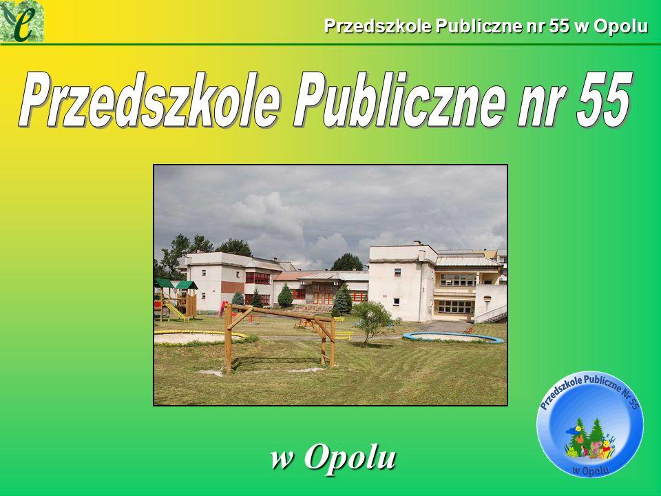 Wybrane działania w ramach zdobywania Zielonego Certyfikatu przedsięwzięcie Zielony Zakątek NASZE DZIAŁANIANASZE DZIAŁANIA Przedszkole Publiczne nr 55 w Opolu