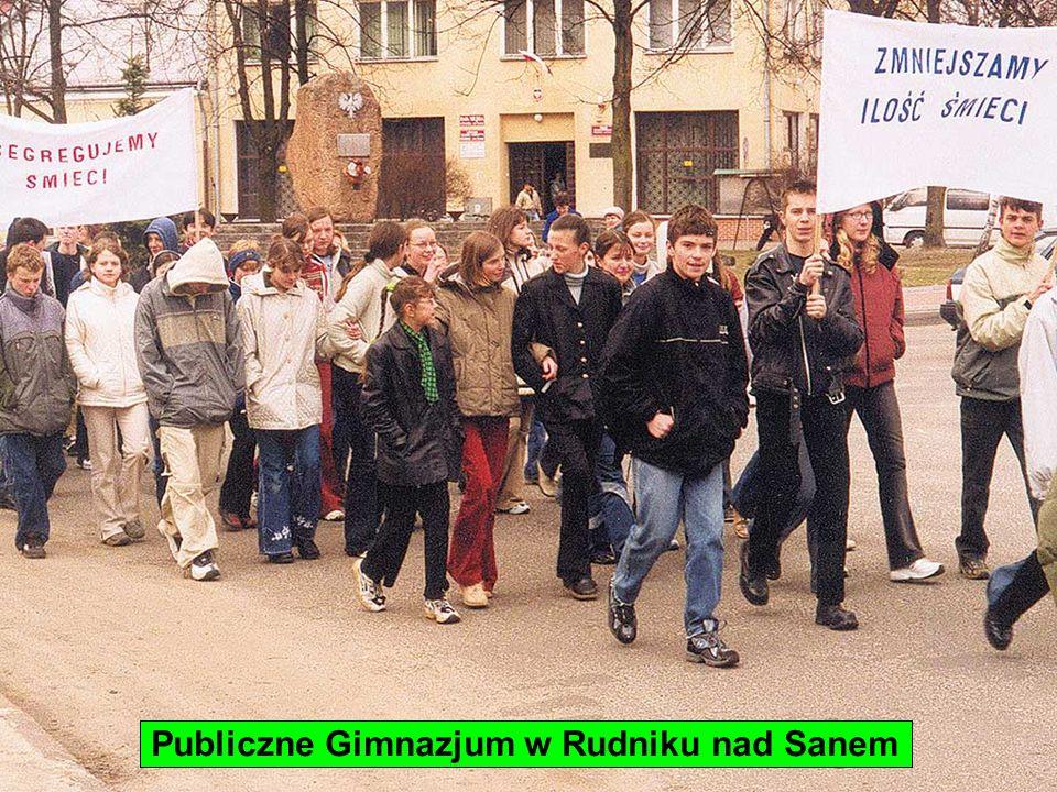 Publiczne Gimnazjum w Rudniku nad Sanem