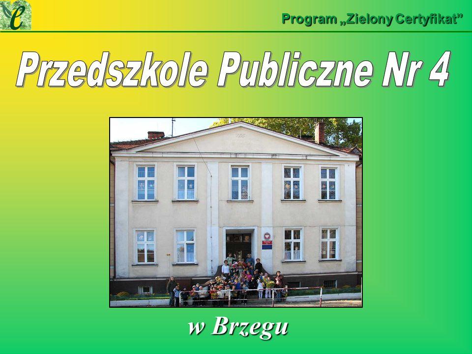 Program Zielony Certyfikat w Brzegu w Brzegu