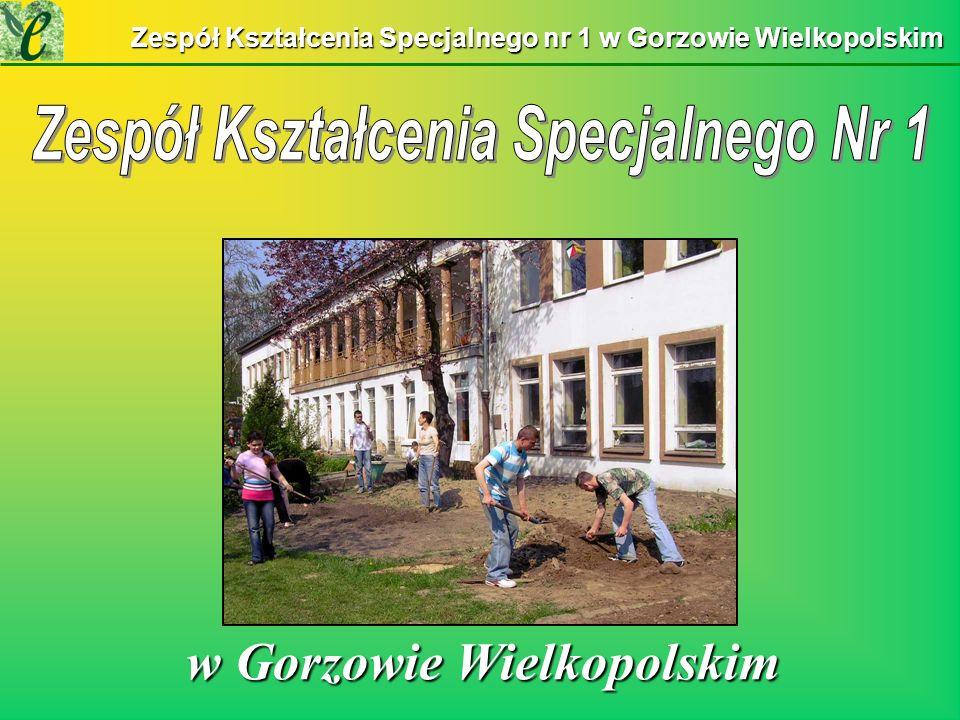 Zespół Kształcenia Specjalnego nr 1 w Gorzowie Wielkopolskim w Gorzowie Wielkopolskim w Gorzowie Wielkopolskim