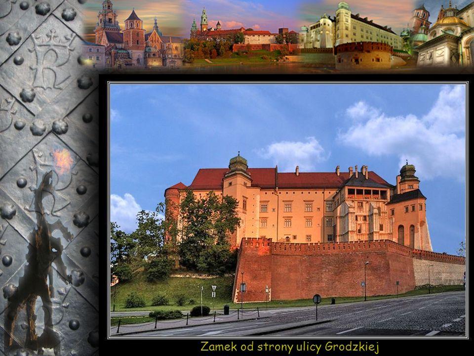 Zamek od strony ulicy Stradom
