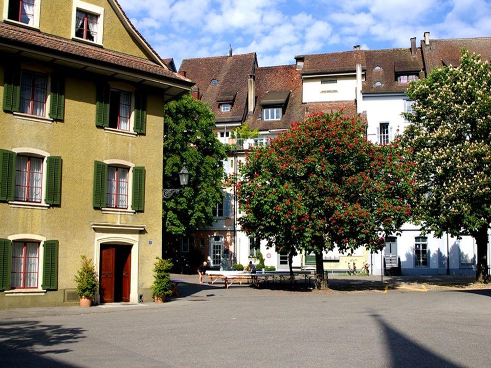 Tętniące życiem, niewielkie miasteczko, położone tylko 20 min. jazdy od Zurichu i lotniska, proponuje także bogatą ofertę kulturalna. Do jego najważni