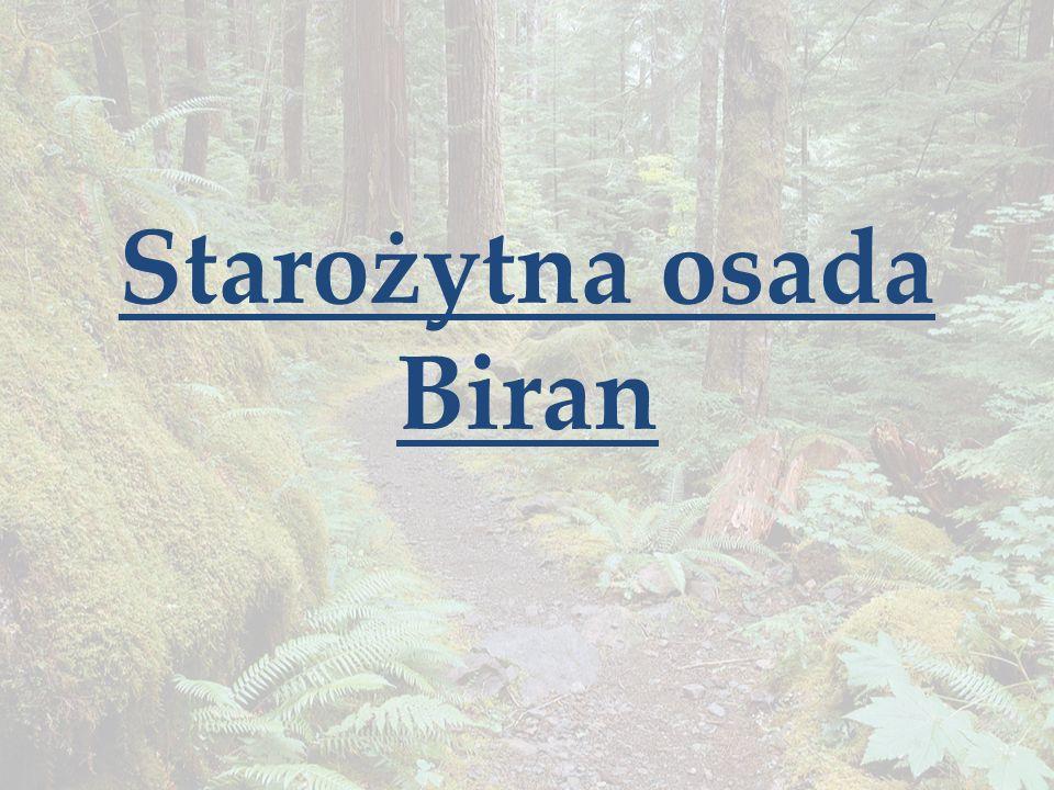Starożytna osada Biran