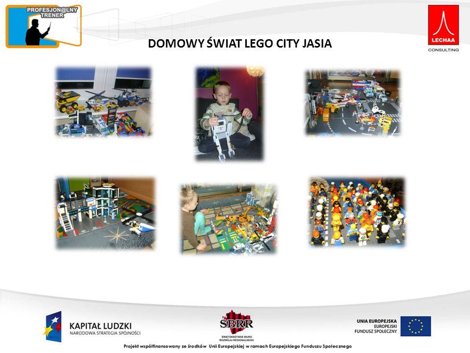 DOMOWY ŚWIAT LEGO CITY JASIA