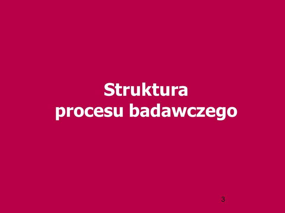 3 Struktura procesu badawczego