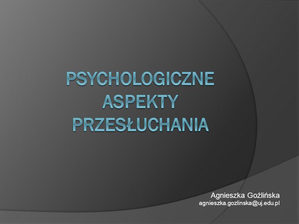 Agnieszka Goźlińska agnieszka.gozlinska@uj.edu.pl