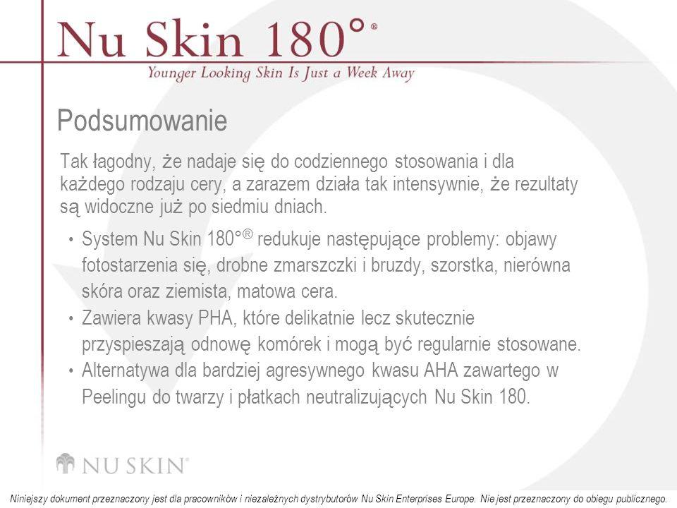 © 2001 Nu Skin International, Inc Niniejszy dokument przeznaczony jest dla pracowników i niezależnych dystrybutorów Nu Skin Enterprises Europe.