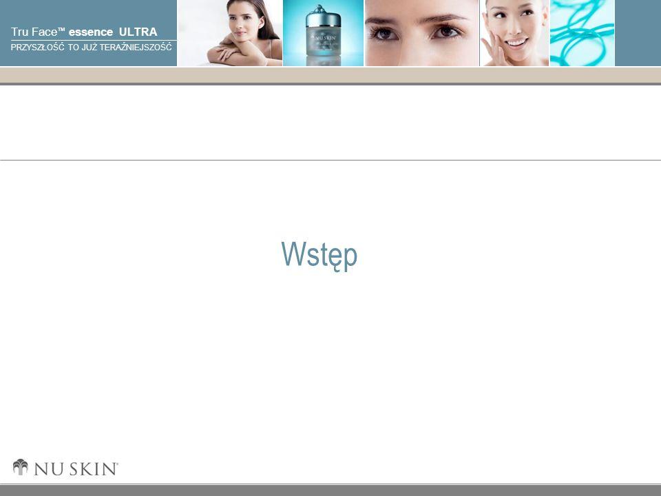 © 2001 Nu Skin International, Inc Tru Face essence ULTRA PRZYSZŁOŚĆ TO JUŻ TERAŹNIEJSZOŚĆ Elastyna Elastyna jest elastycznym, zwiniętym włóknem białka, które pomaga skórze utrzymać jej elastyczność i spręzystość.