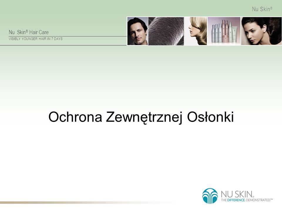 Nu Skin ® Hair Care VISIBLY YOUNGER HAIR IN 7 DAYS Nu Skin ® Ochrona Zewnętrznej Osłonki