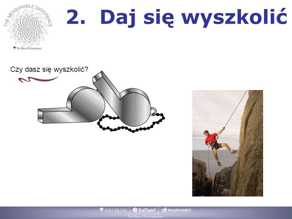 2. Daj się wyszkolić Czy dasz się wyszkolić?