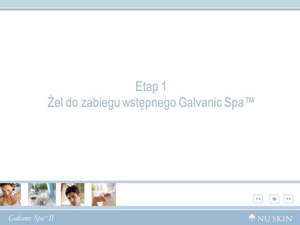 Etap 1 Żel do zabiegu wstępnego Galvanic Spa