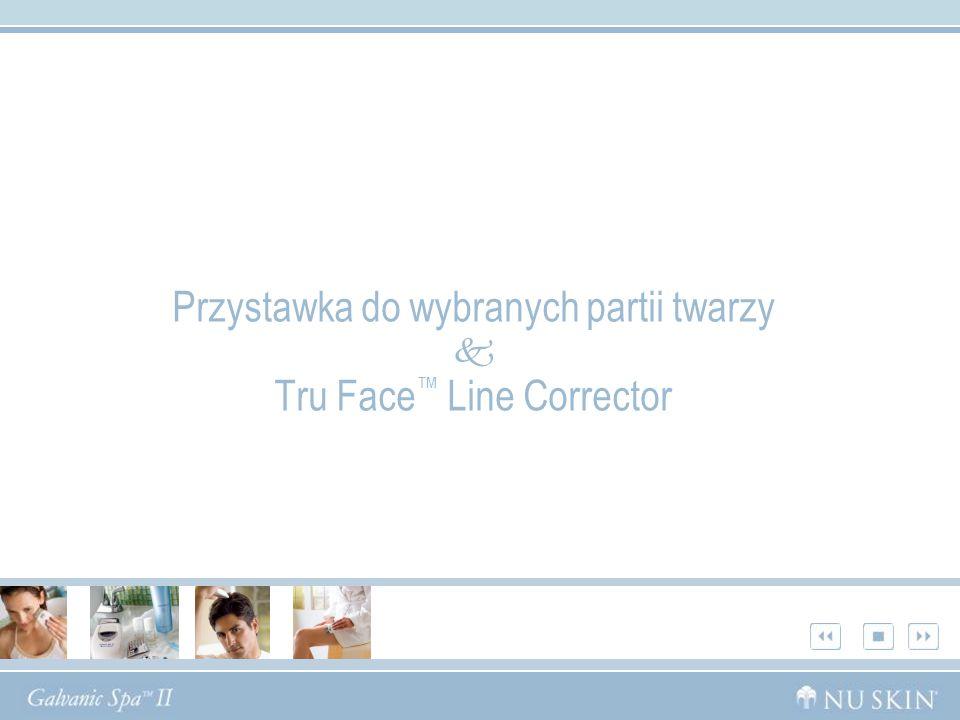 Przystawka do wybranych partii twarzy Tru Face Line Corrector