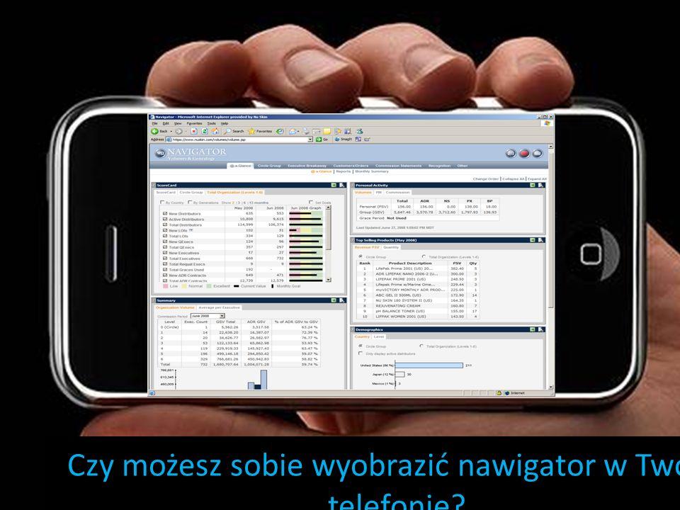Czy możesz sobie wyobrazić nawigator w Twoim telefonie?