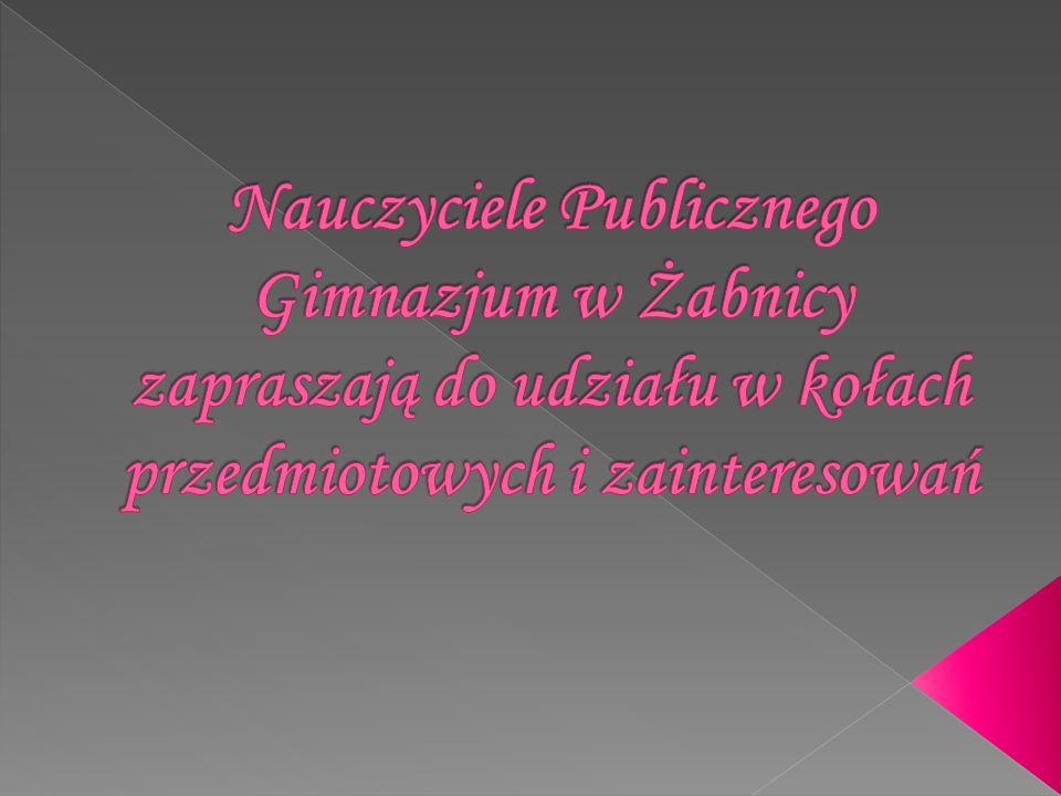 środy 7.45-8.35 13.25-14.40 Przekonaj się, że język polski da się lubić!