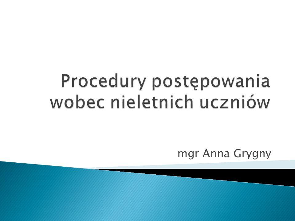 mgr Anna Grygny