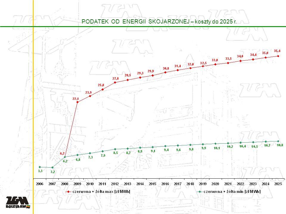 PODATEK OD ENERGII SKOJARZONEJ – koszty do 2025 r.