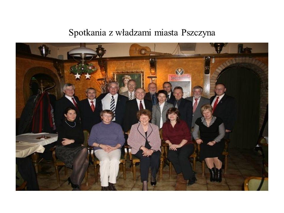 Spotkania z władzami miasta Pszczyna