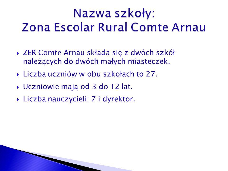 ZER Comte Arnau składa się z dwóch szkół należących do dwóch małych miasteczek.