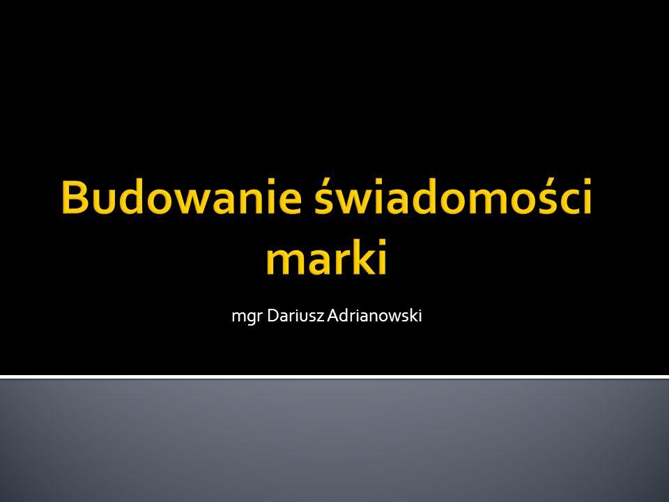 mgr Dariusz Adrianowski