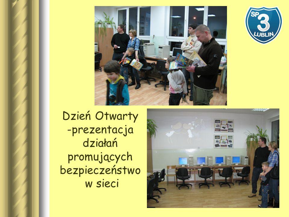 Dzień Otwarty -prezentacja działań promujących bezpieczeństwo w sieci