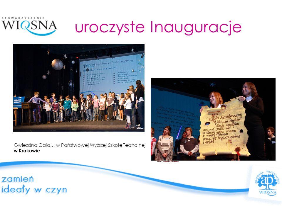 uroczyste Inauguracje Gwiezdna Gala… w Państwowej Wyższej Szkole Teatralnej w Krakowie