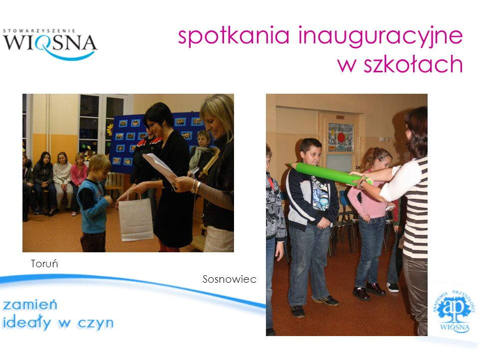 wydarzenia specjalne pokaz kuglarzy w Lublinie z towarzyszeniem muzyki wykonywanej na egzotycznych instrumentach (australijskie didgeridoo czy szkockie dudy) zajęcia taneczne dla uczniów poznańskiej AKADEMII zorganizowane we współpracy z instruktorami szkoły Born to Dance
