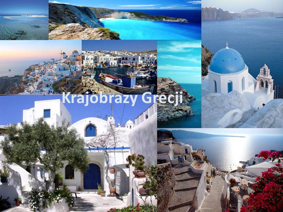Krajobrazy Grecji