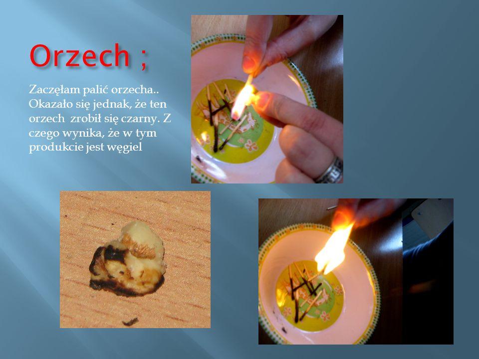 Marchewka ; Zaczęłam palić marchewkę..Okazało się jednak, że ta marchew nie zrobiła się czarna.