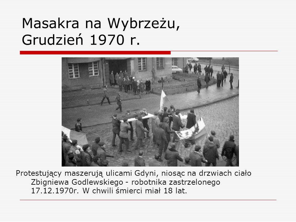 Masakra na Wybrzeżu, Grudzień 1970 r.