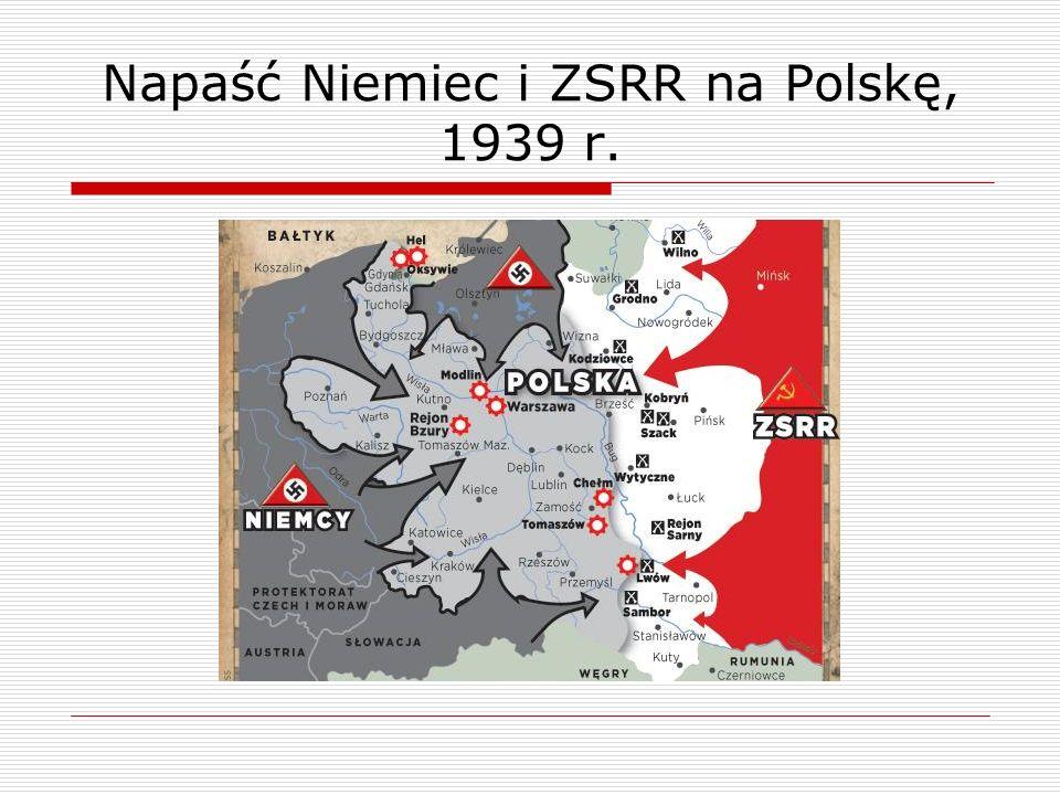 Napaść Niemiec i ZSRR na Polskę, 1939 r.
