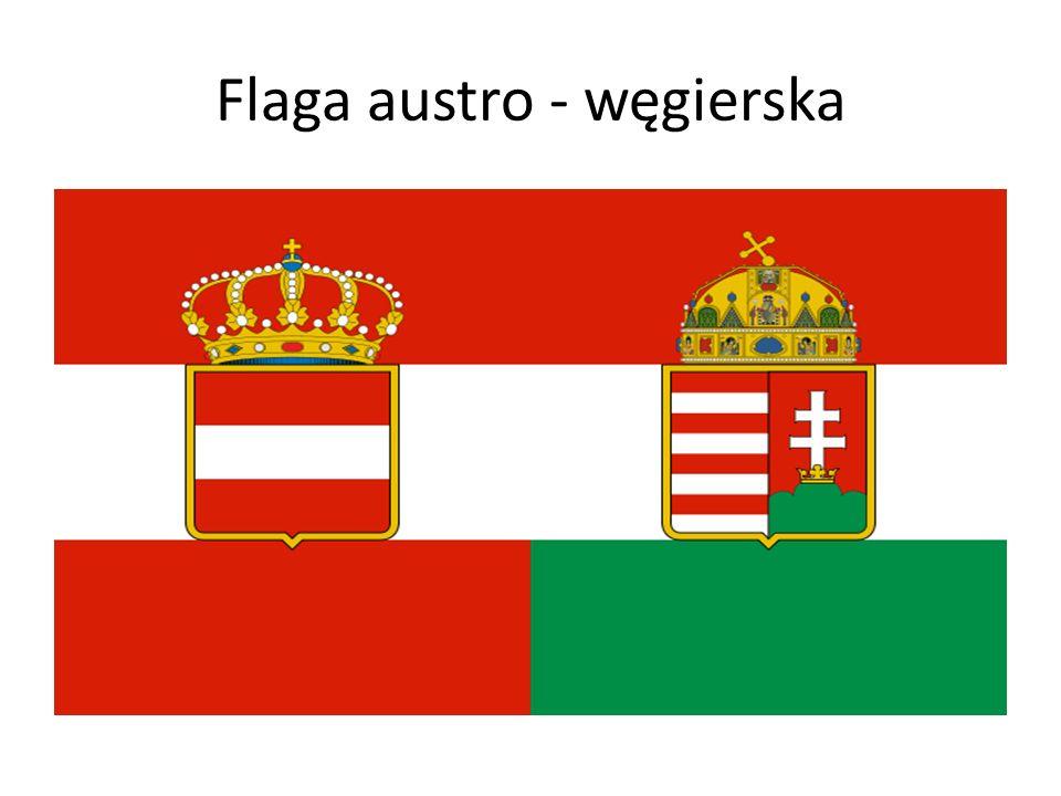 Flaga austro - węgierska