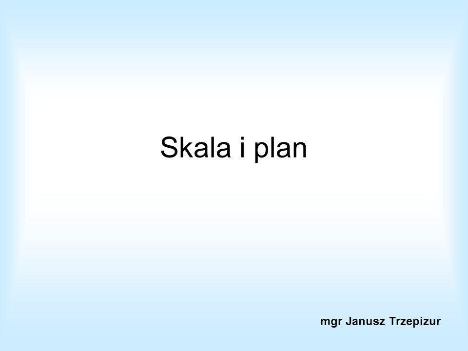 Skala i plan mgr Janusz Trzepizur