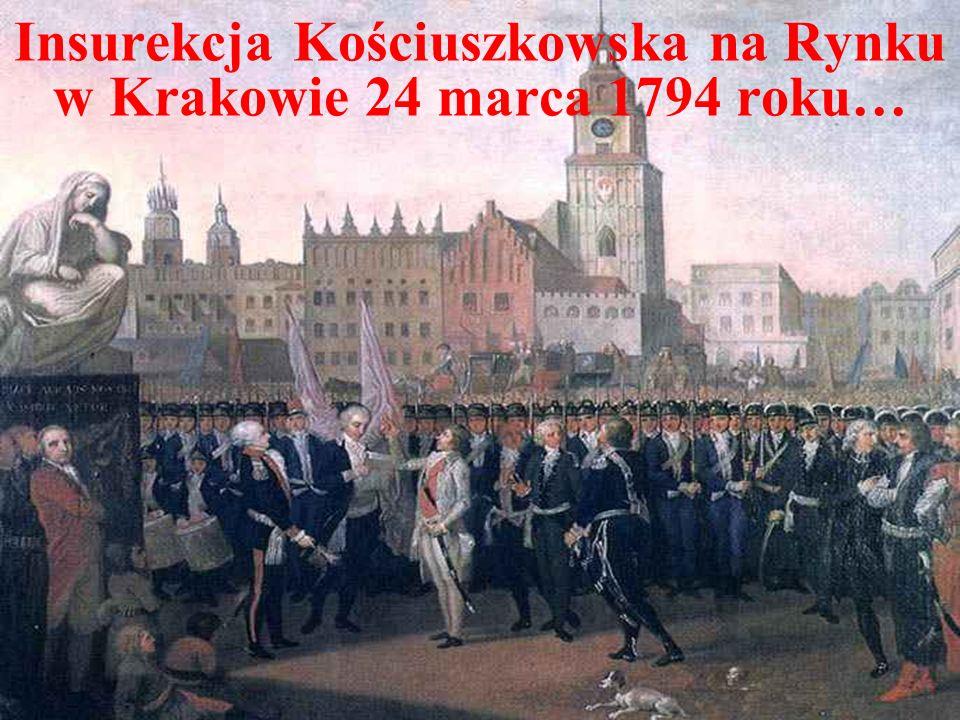 Nadzieje ulotniły się bardzo szybko… Po klęsce Napoleona w 1812 w Rosji, na terytorium Księstwa Warszawskiego wkroczyły wojska rosyjskie, kładąc praktycznie kres jego istnieniu.