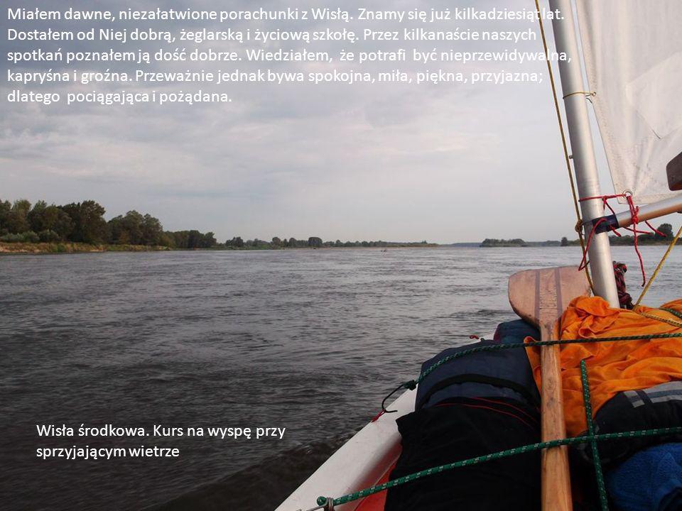 S/Y Jerzowiec, łódka klasy optimist, raczej zabawka do pływania dla dzieci, a nie poważny jacht turystyczny.