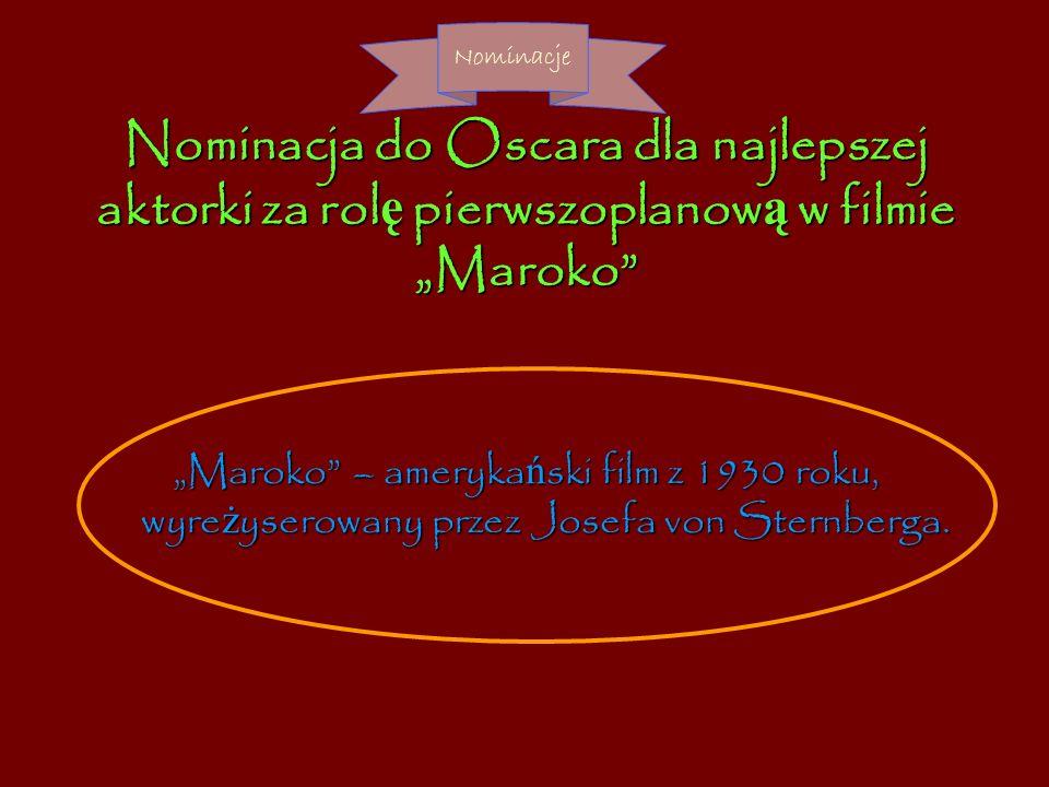 Marlena Dietrich Nagrody, odznaczenia oraz wyróżnienia…