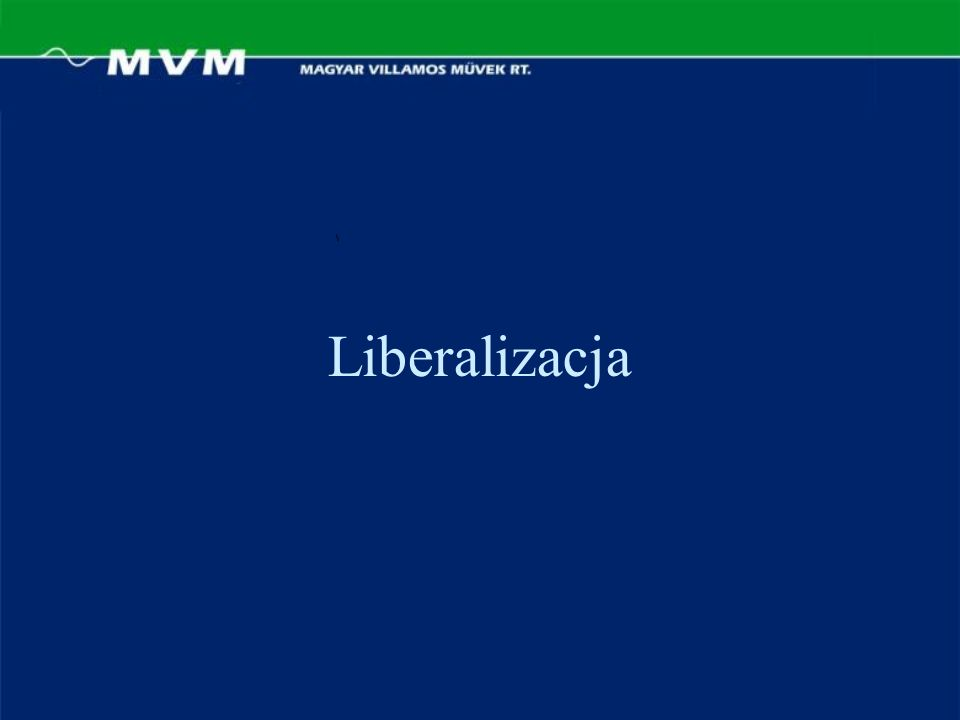 Liberalizacja
