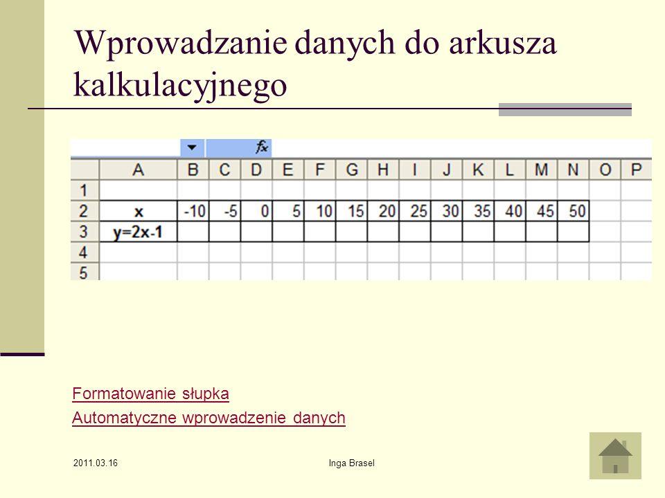 2011.03.16 Inga Brasel6 Formatowanie szerokości słupka