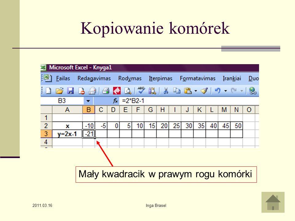 2011.03.16 Inga Brasel20 Rozwiązania układu równań