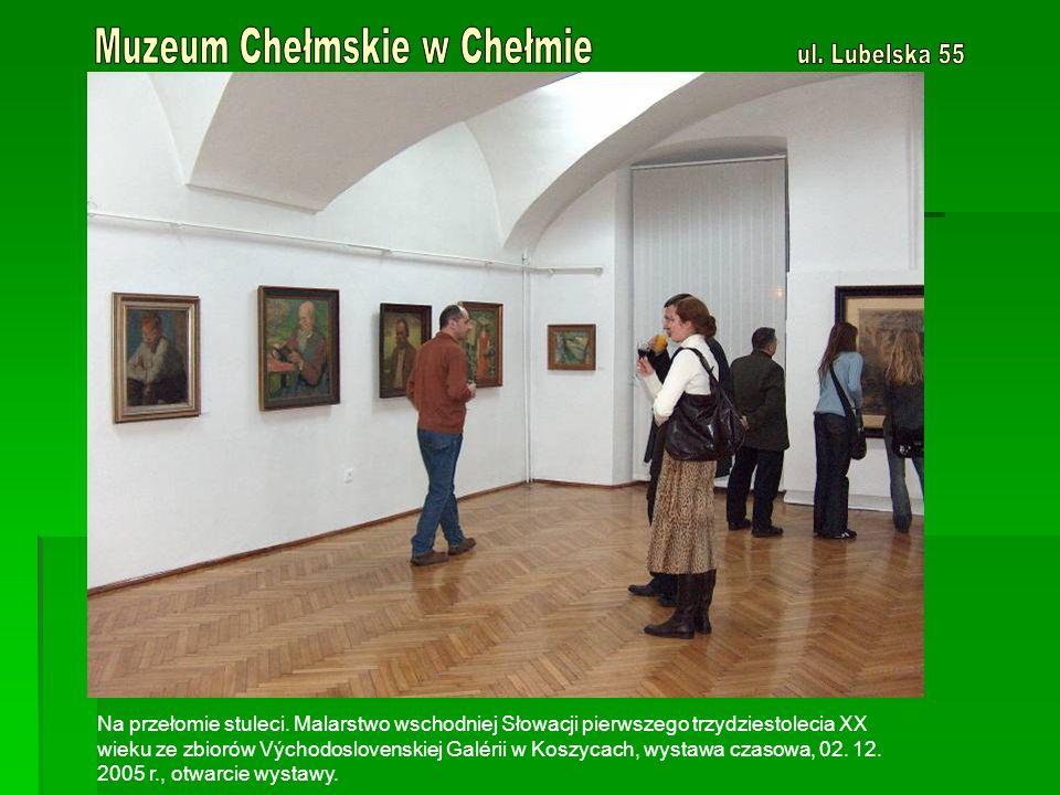 Znane, nieznane obrazy artystów chełmskich XX w.