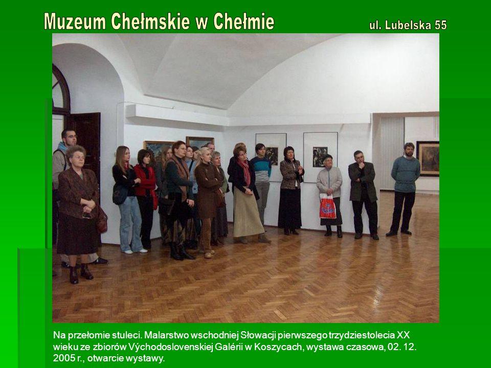 Osobliwości przyrodnicze Lubelszczyzny – wystawa stała (nieczynna do lutego 2006 r.)