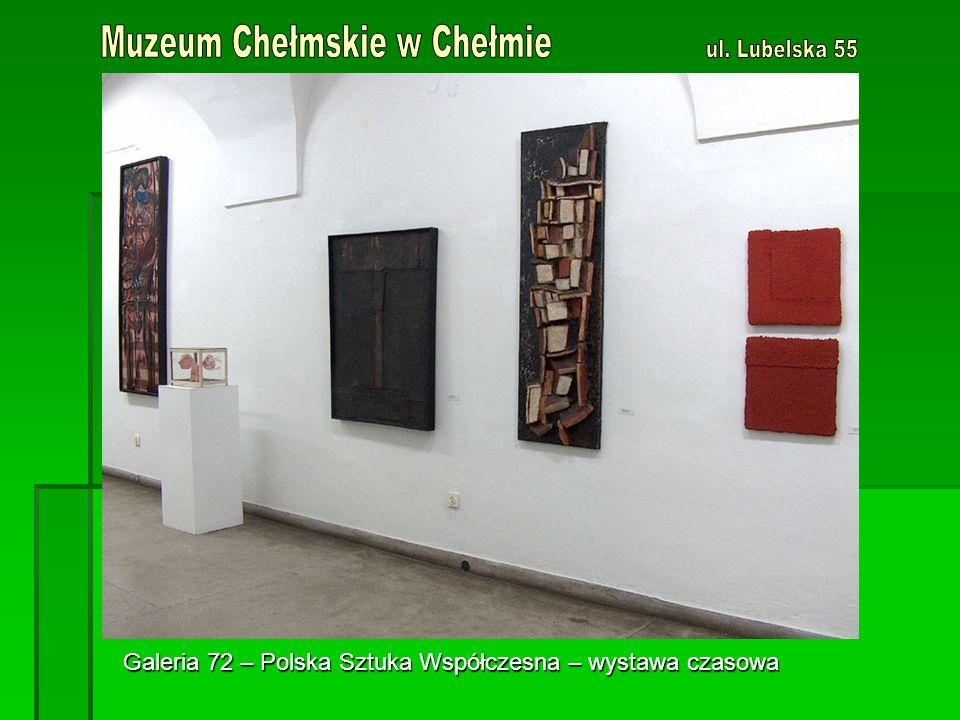 Galeria 72 – Polska Sztuka Współczesna – wystawa czasowa