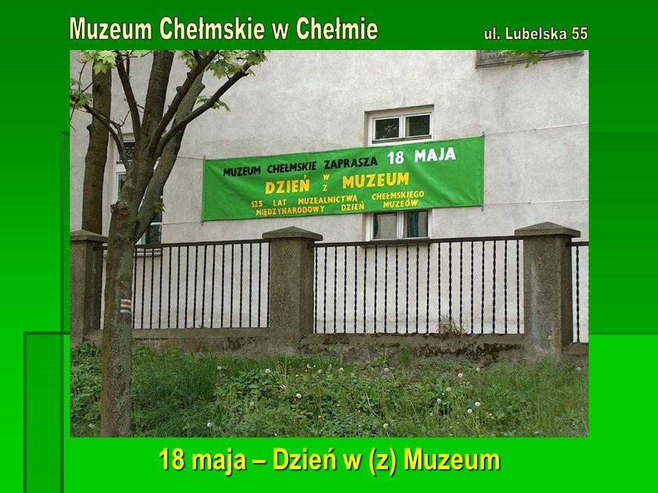 18 maja – Dzień w (z) Muzeum
