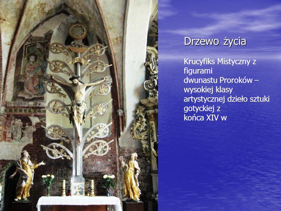 Organy - Wysokiej klasy artystycznej jest prospekt organowy z 1611 r., zawieszony nad wejściem do nawy głównej.