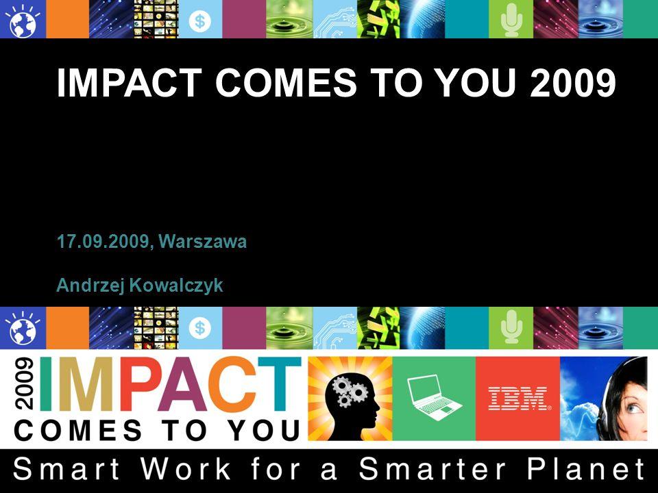 IMPACT COMES TO YOU 2009 17.09.2009, Warszawa Andrzej Kowalczyk